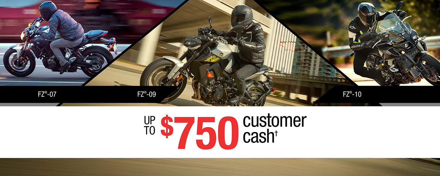 Yamaha Motorcycle Card Account